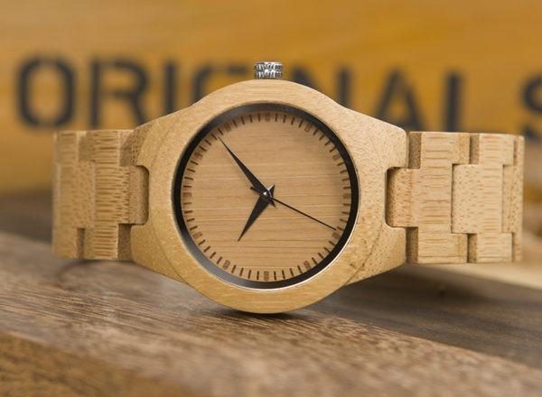 Představujeme luxusní dřevěné hodinky!  3cb9fccd262