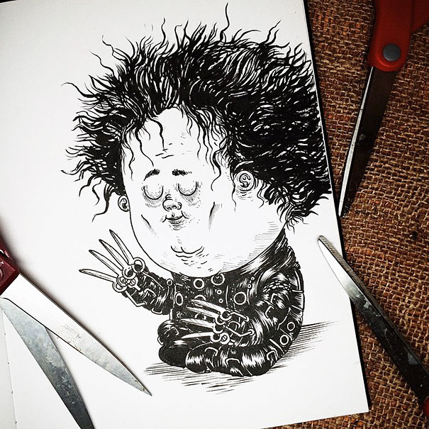 baby-terrors-iconic-horror-monsters-illustrations-alex-solis-16
