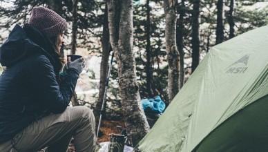 outdoorové bundy