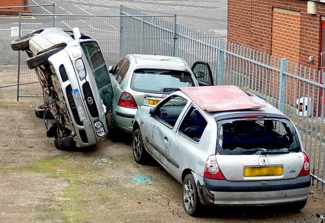 Zlikvidování vozidel