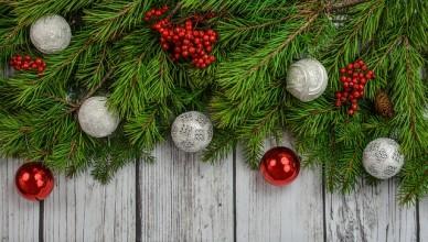 vánoční světelné dekorace