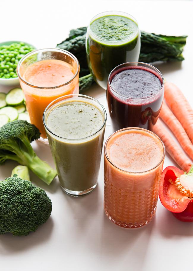 vegetable-smoothies